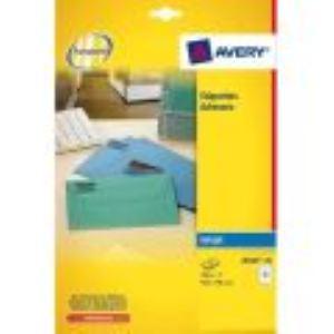 Avery-Zweckform 525 étiquettes d'adresses (3,81 x 6,35 cm)