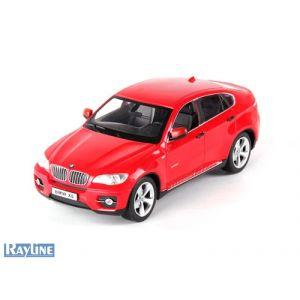 RayLine Voiture radiocommandée BMW X6 SUV blanche 1-14