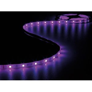 Velleman RUBAN A LED FLEXIBLE. CONTROLEUR ET ALIMENTATION - RVB - 150 LED - 5 m - 12 Vcc - LEDS19RGB