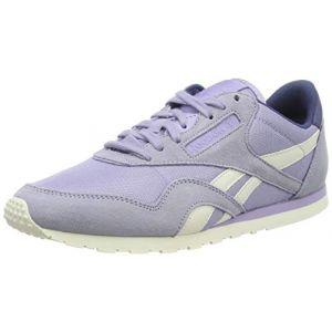 Reebok Classic Nylon, Chaussures de Course Femme, Violet