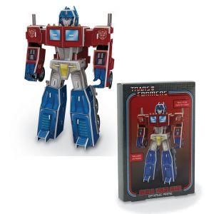 Paladone Kit Figurine Transformers Papercraft 3D Optimus Prime
