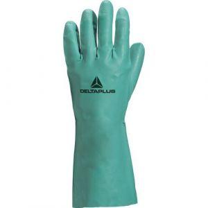Delta Plus Gant nitrile vert 33 cm Nitrex 802 taille 8.5 : VE802VE08
