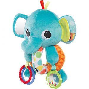 Bright Starts Eléphant en peluche Explore & Cuddle