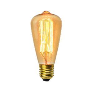 Vito-lighting Ampoule décoart incandescente vintage Edison ST64 40W E27 2350K