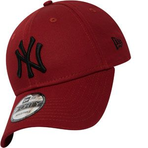 New era 9Forty League Essential York Yankees casquette Hommes rouge