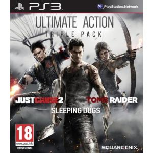 Action Pack : Tomb Raider + Just cause 2 + Sleeping Dogs [PS3]