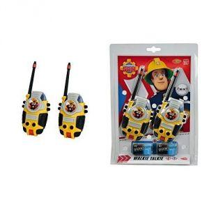Dickie Toys Talkie-walkie Sam le pompier