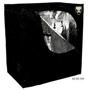 Blackbox Silver Chambre de culture Propagator 90x60x100cm ou 60x100x90cm - Mylar