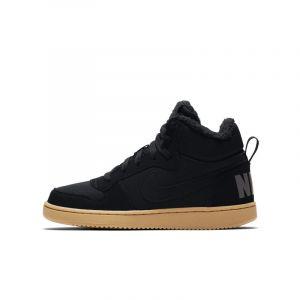Nike Chaussure Court Borough Mid Winter pour Enfant plus âgé - Noir Taille 36.5
