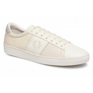 Fred Perry Chaussures baskets mode b3107 spencer beige