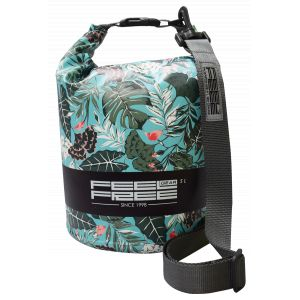 Feel Free Sac étanche Dry Tube Tropical Organic Teal - 3L et 5L