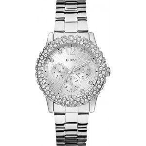 Guess W0335L - Montre pour femme avec bracelet en acier