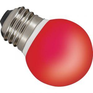 Sylvania 0026887 ToLEDo Ampoule LED Ball IP44 Rouge E27