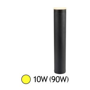 Vision-El Potelet cylindrique LED 10W (90W) IP54 Blanc chaud 3000°K Anthracite