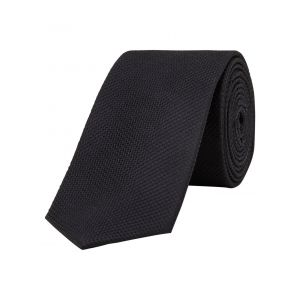 Jack & Jones Premium Jaccolombia Tie Noos, Cravate Homme, Noir (Black Detail:solid), Taille unique
