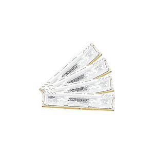 Crucial BLS4C8G4D240FSCK - Barrette mémoire Ballistix Sport LT DDR4 8 Go x4 2400 DIMM 288pin white SR