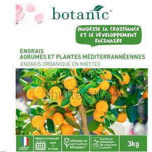 Botanic Engrais agrumes, plantes méditerranéennes 3kg