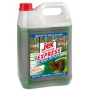 Jex 609018 - Nettoyant désinfectant parfum Forêt des Landes (Bidon de 5 L)
