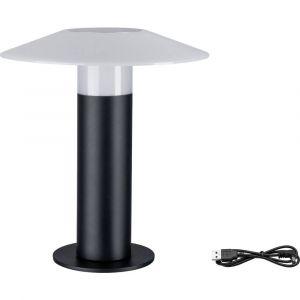 Paulmann Lampadaire LED extérieur Portino 3.5 W anthracite 34 cm