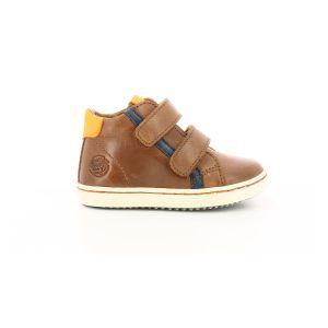 Aster Waouh, Sneakers Haute Garçon, Camel, 28