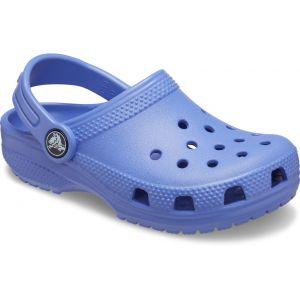 Crocs Classic Clog Kids, Sabot Unisexe Enfant, Bleu lapis-lazuli, 32/33 EU