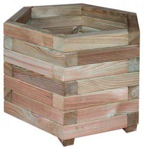 Jonquille 50 - Jardinière hexagonale Ø50 x 46 cm