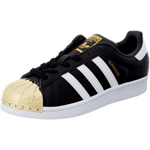 Adidas Originals Superstar Metal Toe, Baskets Basses Femme, Noir