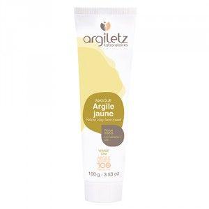 Argiletz Masque argile jaune peaux mixtes
