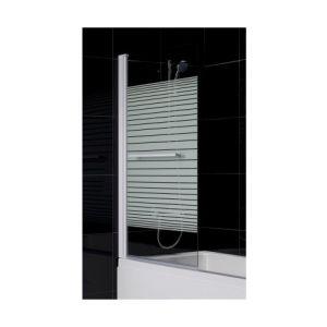 Azura home design Pare baignoire MARTINA 86x140 cm - Orientation: Gauche