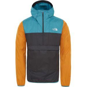 The North Face Fanorak - Veste Homme - gris/orange L Vestes de pluie