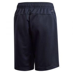 Adidas Pantalons Training Knit Linear 152 cm Legend Ink / White - Legend Ink / White - Taille 152 cm