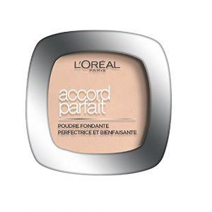 L'Oréal Accord Parfait - Poudre fondante et matifiante 4.N Beige