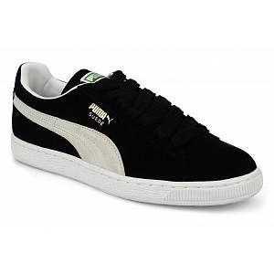Puma Suede Classic+ - Baskets mode - Mixte Adulte - Noir (Black/White 03) - 40 EU
