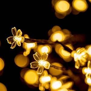 Höfer Chemie Arbre lumineux Fleurs de Cerisier - 45 cm - 48 LED