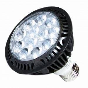 Silamp Ampoule E27 LED 15W 220V 12LED PAR30 24 - couleur eclairage : Blanc Chaud 2300K - 3500K