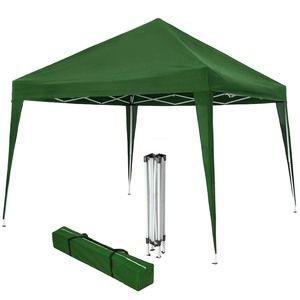 TecTake Barnum pliable vert 3 m x 3 m