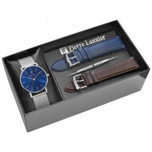 Pierre Lannier 377B168 - Coffret montre pour homme avec 3 bracelets