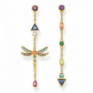 Thomas Sabo Boucles d´oreilles multicolore H2033-317-7