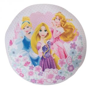 Character World Coussin rond dreams Disney Princesse (30 cm)