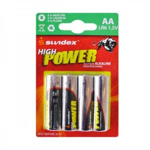 Vision-El 4 Piles LR6 AA 1.5V Super Alcaline Pro High Power