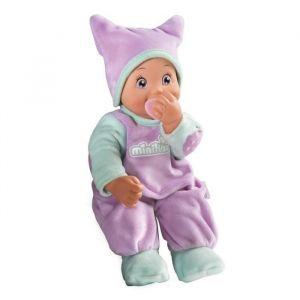 Smoby Minikiss Poupon tétine violet