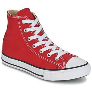 Converse Youths Chuck Taylor All Star Hi - Sneakers Basses - Mixte Enfant - Rouge - 35 EU