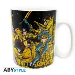 Abystyle Mug Saint Seiya Chevaliers d'Or Dragon Ball (46 cl)