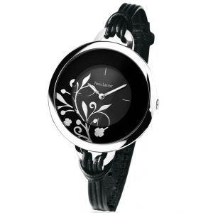 Pierre Lannier 068H7 - Montre pour femme bracelet en cuir Flowers
