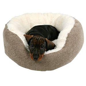 Trixie Lit pour chien Yuma marron/blanc, ø 55 cm
