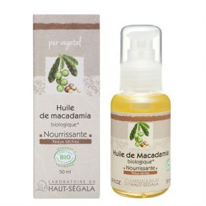 Laboratoire du Haut-Segala Huiles végétales de Macadamia Vierge Bio 50ml