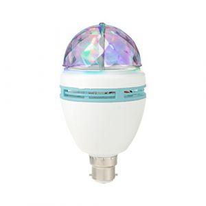 Global gizmos Disco Party ampoule, Blanc, B22, 3 W