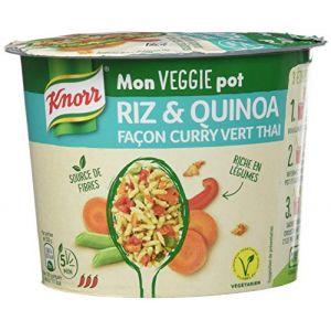 Knorr Veggie pot riz quinoa façon curry