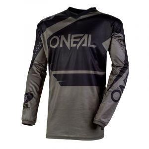 O'neal Maillot cross ELEMENT - RACEWEAR - BLACK GRAY 2020