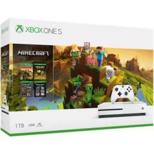 Microsoft Console Xbox One S 1To Minecraft Creators